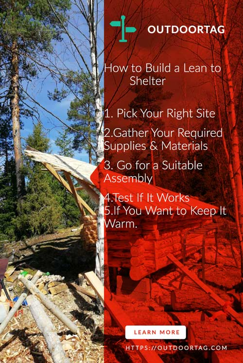 How to Build a Lean to Shelter