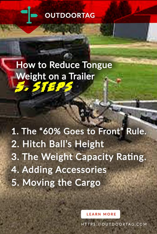 How to Reduce Tongue Weight on a Trailer 5. Steps