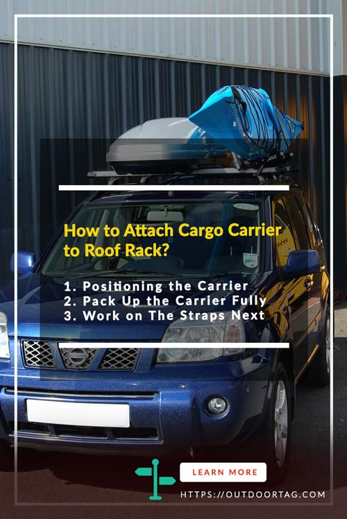steps of the How to Attach Cargo Carrier to Roof Rack