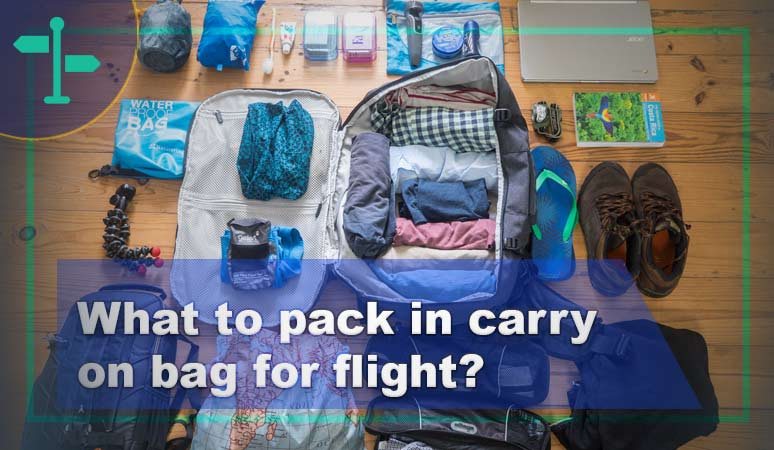 what to pack in carry on bag for flight