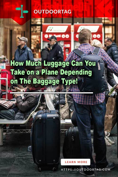 How Much Luggage Can You Take on a Plane Depending on The Baggage Type.