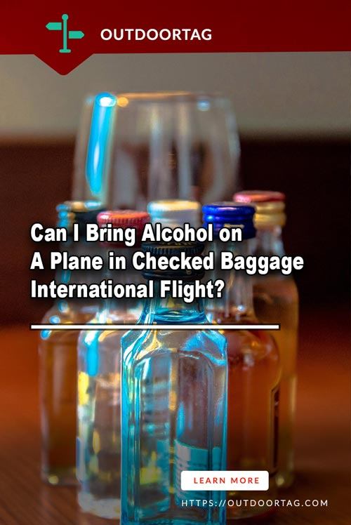 Can I Bring Alcohol on A Plane in Checked Baggage International Flight?