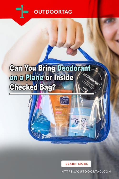 Can You Bring Deodorant on a Plane or Inside Checked Bag?