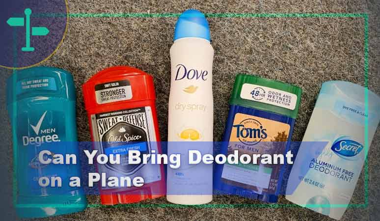 Can You Bring Deodorant on a Plane